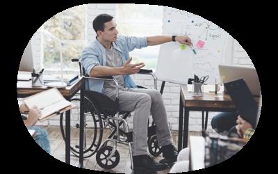 Cómo debe acoger el equipo de trabajo a una persona con discapacidad