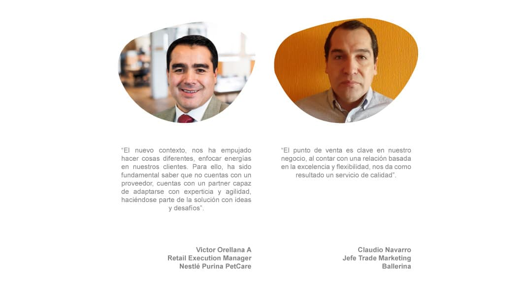 Testimonio Cliente outsourcing / Subcontratación  Víctor Orellana Nestlé Purina y Claudio Navarro Ballerina